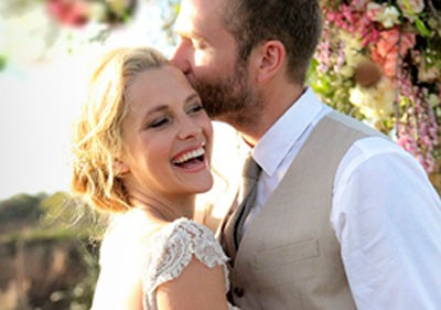 Rick was the special guest (and makeup artist) of Teresa Palmer on her wedding day to Mark Webber